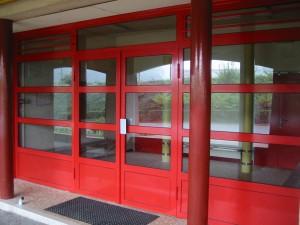 Menuiserie métallique - Lycée Bellevue Le Mans (72)